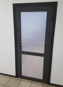 Дверь алюминиевая Alutech C48