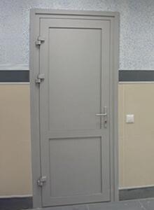 Дверь алюминиевая CИАЛ КП40