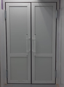 Дверь алюминиевая CИАЛ КП45