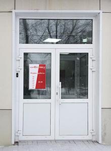 Дверь алюминиевая CИАЛ КПТ74