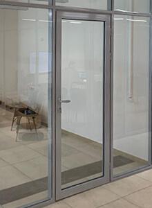 Дверь алюминиевая Сибпрофиль СП80